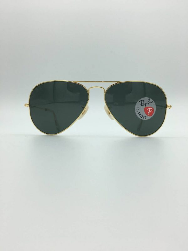 Ray-Ban-3025K-aviator solid gold-limited edition